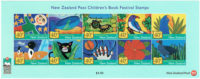 NZ Postage Stamps Childrens Book festival