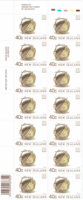 NZ Postage Stamps Flax 40c